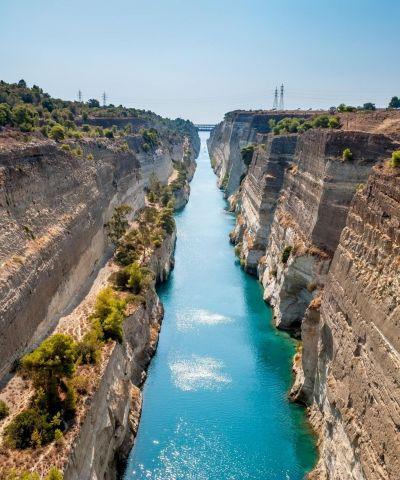 Lo Stretto di Corinto