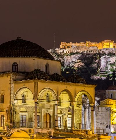 athens greece night tours