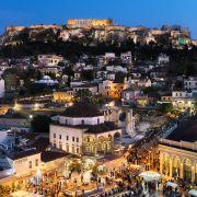 Tour Serale di Atene con Cena