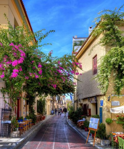 Athens is the capital and largest city of Greece. Athens dominates the Attica region and is one of the world's oldest cities, with an incredible history waiting to be explored on foot.