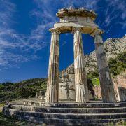 Gita a Delfi da Atene