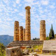 Tempio Di Apollo Delfi