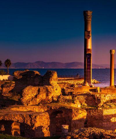 Η Τυνησία είναι μια χώρα στις μεσογειακές ακτές της Βόρειας Αφρικής και είναι το μικρότερο και ανατολικότερο κράτος που εκτείνεται κατά μήκος της οροσειράς του Άτλαντα και συνορεύει με την Αλγερία στα δυτικά και τη Λιβύη στα νοτιοανατολικά. Το 40% της χώρας καταλαμβάνεται από την έρημο Σαχάρα και το υπόλοιπο αποτελείται από γόνιμα εδάφη και προσβάσιμες ακτές.