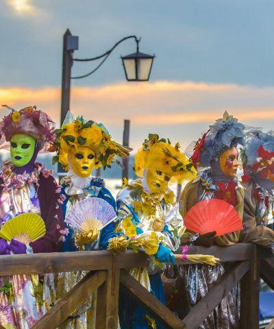Αρλεκίνοι Καρναβάλι