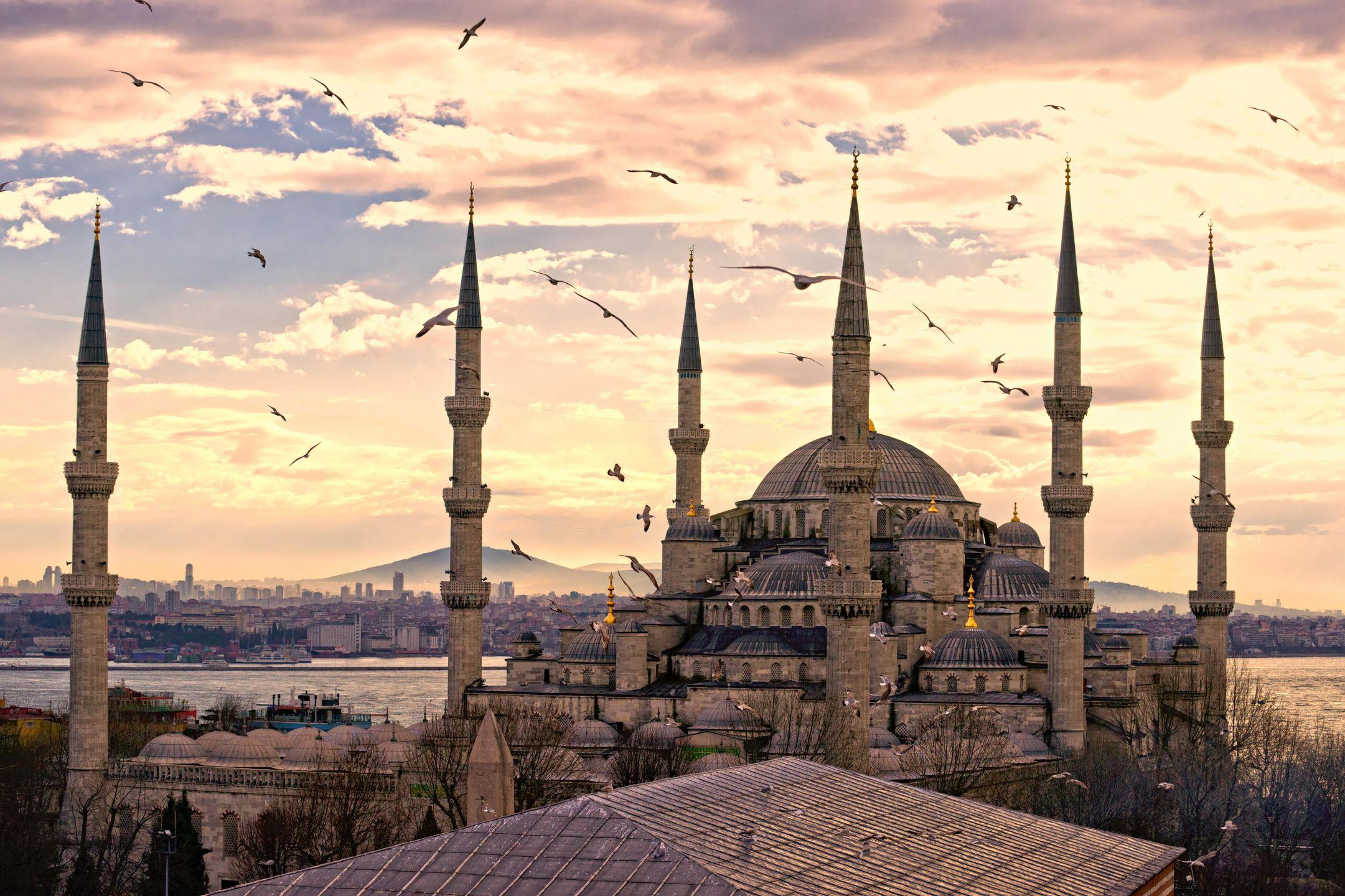 Η Κωνσταντινούπολη, είναι η μεγαλύτερη πόλη της Τουρκίας, αποτελώντας το οικονομικό, πολιτιστικό και ιστορικό κέντρο της χώρας. Η Κωνσταντινούπολη είναι διηπειρωτική πόλη στην Ευρασία, με το ιστορικό και εμπορικό κέντρο να βρίσκεται στην ευρωπαϊκή πλευρά και περίπου το ένα τρίτο του πληθυσμού να ζει στην ασιατική πλευρά της Ευρασίας. Η Βενετία είναι πόλη χτισμένη πάνω σε μια ομάδα 118 μικρών νησιών που χωρίζονται από κανάλια και ενώνονται μεταξύ τους με γέφυρες. Βρίσκεται στην ομώνυμη ελώδη λιμνοθάλασσα που απλώνεται κατά μήκος της ακτογραμμής μεταξύ των εκβολών των ποταμών Πο και Πιάβε. Η Βενετία είναι φημισμένη για την ομορφιά της τοποθεσίας της, την αρχιτεκτονική της και τα έργα τέχνης της. Ολόκληρη η πόλη είναι καταγεγραμμένη ως Μνημείο Παγκόσμιας Κληρονομιάς, μαζί με τη λιμνοθάλασσά της.